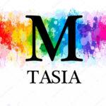 M Tasia Rainbow Logo